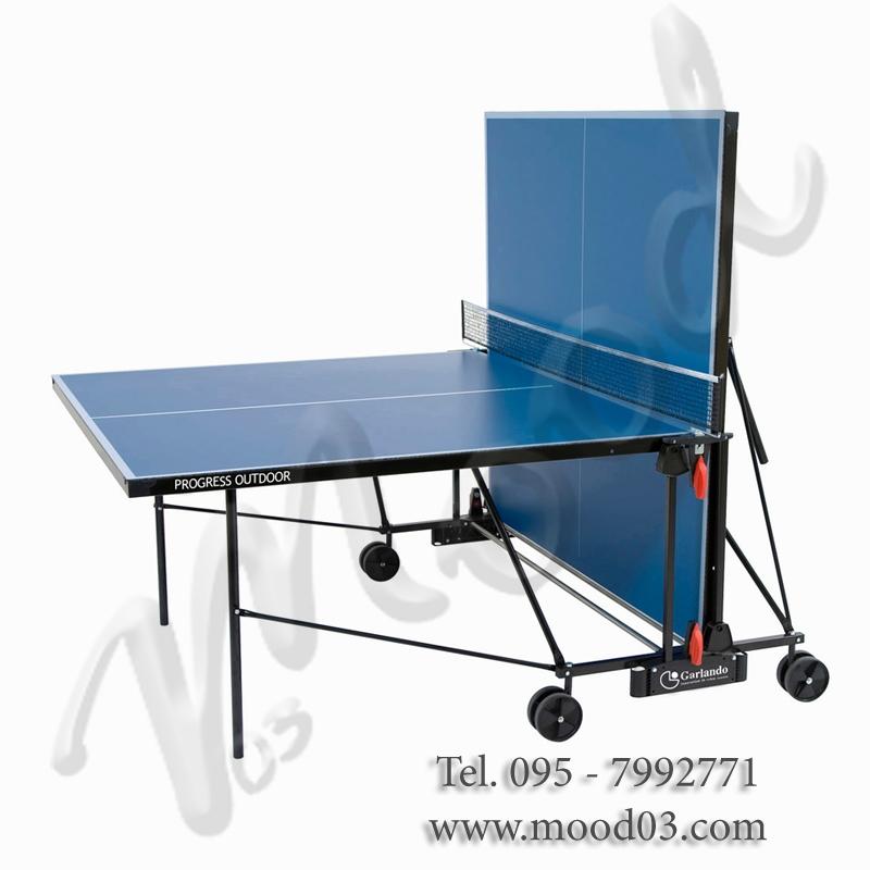 Progress outdoor tavolo da ping pong con piano gioco blu - Prezzo tavolo ping pong ...