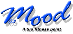 "Logo sito e-commerce www.mood03.com ""Il Tuo Fitness Point"""