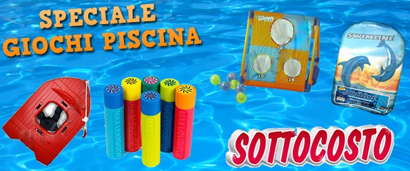Speciale giochi piscina