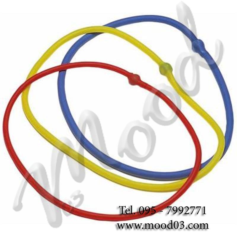 ELASTICO TUBING AD ANELLO BLU RESISTENZA FORTE - Elastico ideale per esercizi aerobica stretching riabilitazione ecc