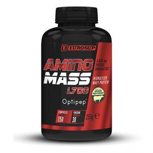AMINO MASS Barattolo 150 cpr  - Aminoacidi Peptidi derivati da Proteine del Siero di Latte Idrolizzate