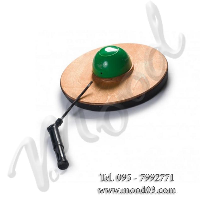 SOMBRERO Ø37 CM Tavola con sfera gonfiabile per ginnastica riabilitativa, propriocettiva ed equilibrio