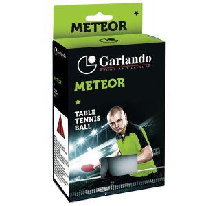 Garlando Confezione 6 palline Meteor per ping pong, qualità 1 stella