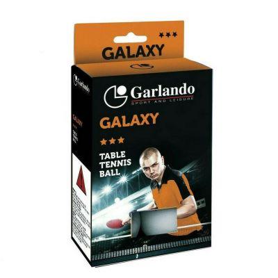Garlando Confezione 6 palline Galaxy per ping pong, qualità 3 stelle