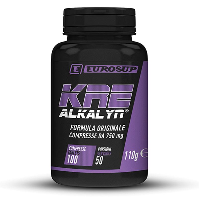 KRE-ALKALYN® Flacone da 100 cps da 750 mg - Integratore alimentare proenergetico in capsule a base di creatina