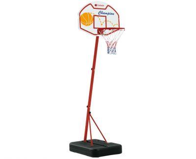 PHOENIX Impianto Basket da 165 cm TRASPORTABILE - Canestro, Rete, Pallone Ø 16 cm e Pompa di Gonfiaggio inclusi
