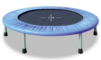 INDOOR FIT & BALANCE, Trampolino da interno per home fitness, diametro 97 cm