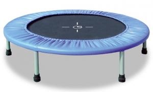 INDOOR FIT & BALANCE, Trampolino da interno per home fitness, diametro 122 cm