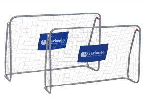 Garlando Kick & Rush, set 2 porte calcio con dimensioni 215x152 cm