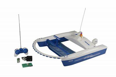 RETINO JET NET - Retino di superficie Radiocomandato con portata 30 m, completo di Radiocomando e Carica Batterie