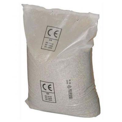 SABBIA QUARZIFERA MICROPERLATA PER FILTRO POMPE PISCINA in Sacco da 25 kg - Sabbia finissima granulometria 0,4 - 0,8 mm