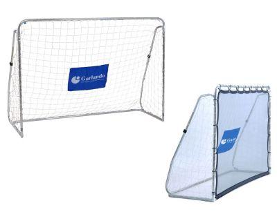 MULTI TRAINER PRO Porta da Calcio dotata di rete di rimbalzo, parete con bersagli e angolazione modificabile