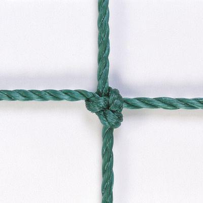COPPIA RETI CALCETTO RINFORZATE VERDI 3X2 MT - Maglie Quadrate 10x10 cm realizzate in corda HDPE di elevata qualità