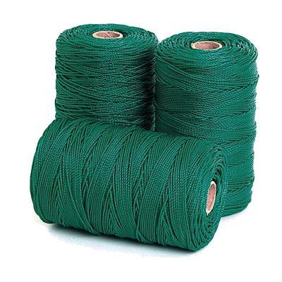 CORDA PERIMETRALE 2,5 colore Verde - Per reti protezione - Rotolo da 100 mt