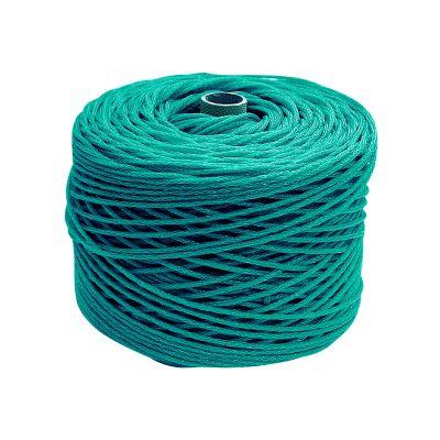 CORDA PERIMETRALE 5 colore Verde - Per reti protezione - Rotolo da 100 mt