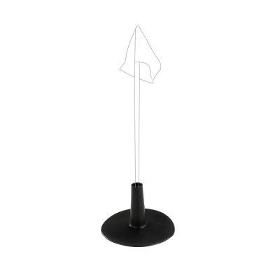 BASE GOMMA PESANTE Per sostenere paletti con diametro 25/32 mm