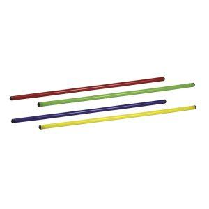 ASTA GINNICA in PVC colore Giallo - Lunghezza 70 cm - Diametro 25 mm