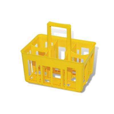 CESTINO PORTA BORRACCE in Plastica - Capacità 6 Borracce
