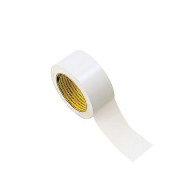 NASTRO ADESIVO PVC SEGNACAMPO colore BIANCO - Rotolo da 33 mt - Utile per segnare i campi di gioco - Uso interno