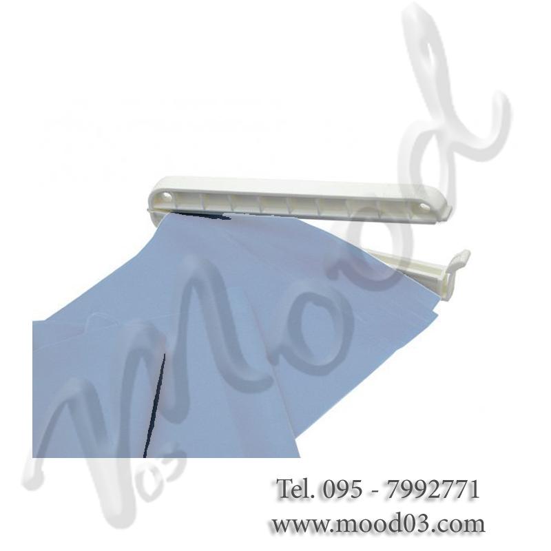 CLIP FERMABANDA per unire le estremità della banda elastica e formare un anello
