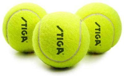 """Confezione di 3 palline da tennis STIGA """"ADVANCE"""" - Per tutte le superfici di gioco"""