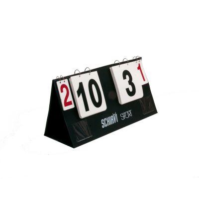 SEGNAPUNTI VOLLEY DA TAVOLO CON ANELLI - numerazione da 0 a 50 + set vinti numeri rossi