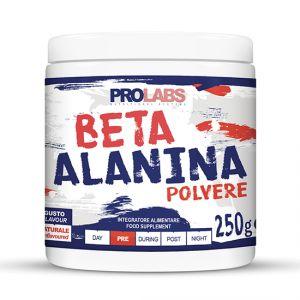 BETA ALANINA POLVERE Barattolo da 250 gr gusto NATURALE - Integratore Alimentare ottimo come Post Workout
