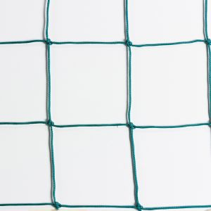 RETE PROTEZIONE ANNODATA 130 - Parapalloni in maglie da 130x130 mm - Il prezzo si riferisce al metro quadrato