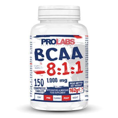 BCAA 8:1:1 Barattolo da 150 cpr - Aminoacidi Ramificati indicati per l'integrazione della dieta degli sportivi