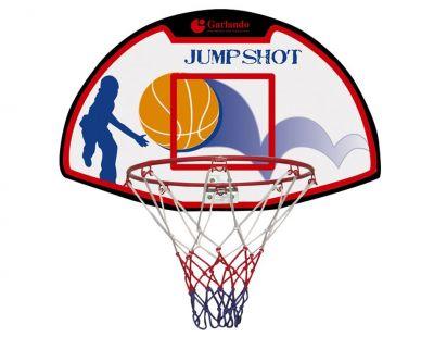 Garlando Denver Tabellone Basket con Canestro da fissare a parete - Dimensioni Tabellone 61x41 cm