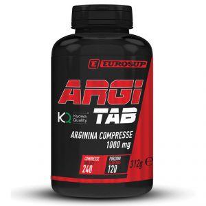 Eurosup Argi Tab Arginina 240 cpr 1000 mg - Integratore Alimentare di L-Arginina Kyowa Quality
