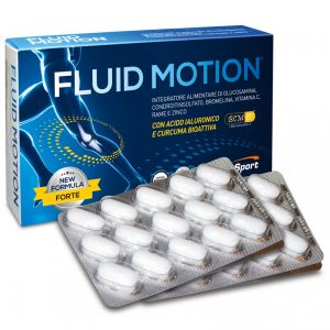 FLUID MOTION 30 cpr da 1400mg - Integratore Alimentare per chi è soggetto ad infortuni di articolazioni e cartilagini