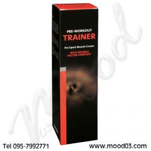 TRAINER ETHICSPORT Tubo da 150 ml - Crema Gel per Preparare i Muscoli allo Sport con DFC (Defence Factor Complex)