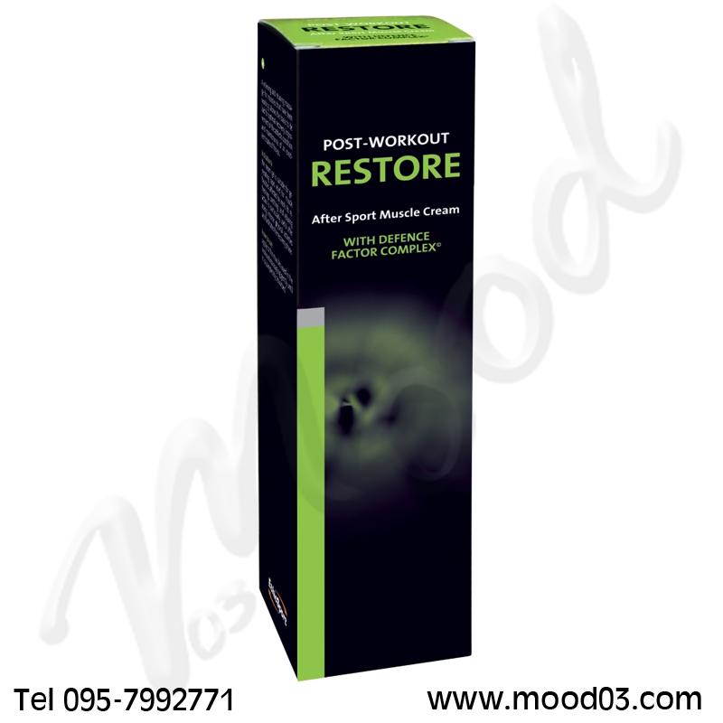 RESTORE ETHICSPORT Tubo da 150 ml - Crema defaticante e distensiva ideale per il recupero muscolare post-attività