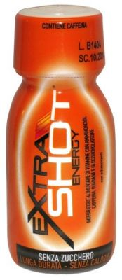 EXTRA SHOT ENERGY ETHICSPORT Flacone da 60 ml - Effetto Tonico ed Energetico, Riduce Stanchezza ed Affaticamento
