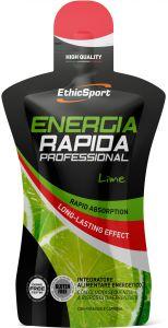 ENERGIA RAPIDA PROFESSIONAL GLUTEN FREE da 50 ml gusto lime, reintegra velocemente le scorte energetiche