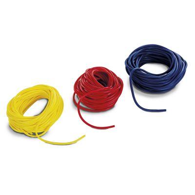 ELASTICO TUBOLARE ANALLERGICO ROTOLO Colore ROSSO (latex free) - Resistenza MEDIA - Rotolo da 30 mt