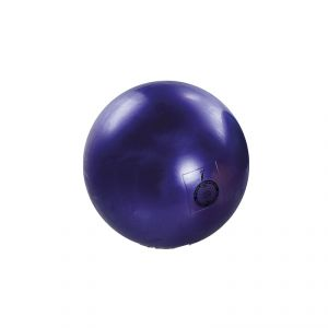 PALLA RITMICA OMOLOGATA FIG DA 420 GR rigonfiabile colore VIOLA - Diametro 19 cm