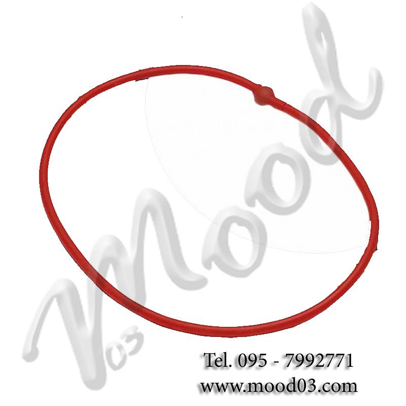 Elastico Tubing ad anello Resistenza Leggera colore rosso - Ideale per Stretching Aerobica Riabilitazione Fisioterapia