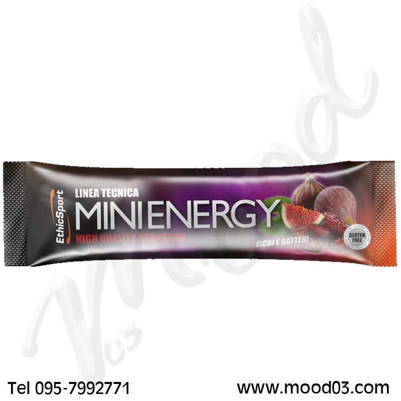 MINI ENERGY ETHICSPORT GUSTO FICHI E DATTERI 20 GRAMMI - Barretta energetica a base di frutta per lo sportivo