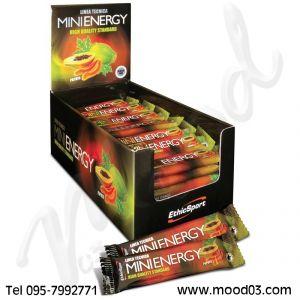 MINI ENERGY ETHICSPORT GUSTO PAPAYA - Confezione 49 barrettine da 20 grammi per energia rapida e duratura