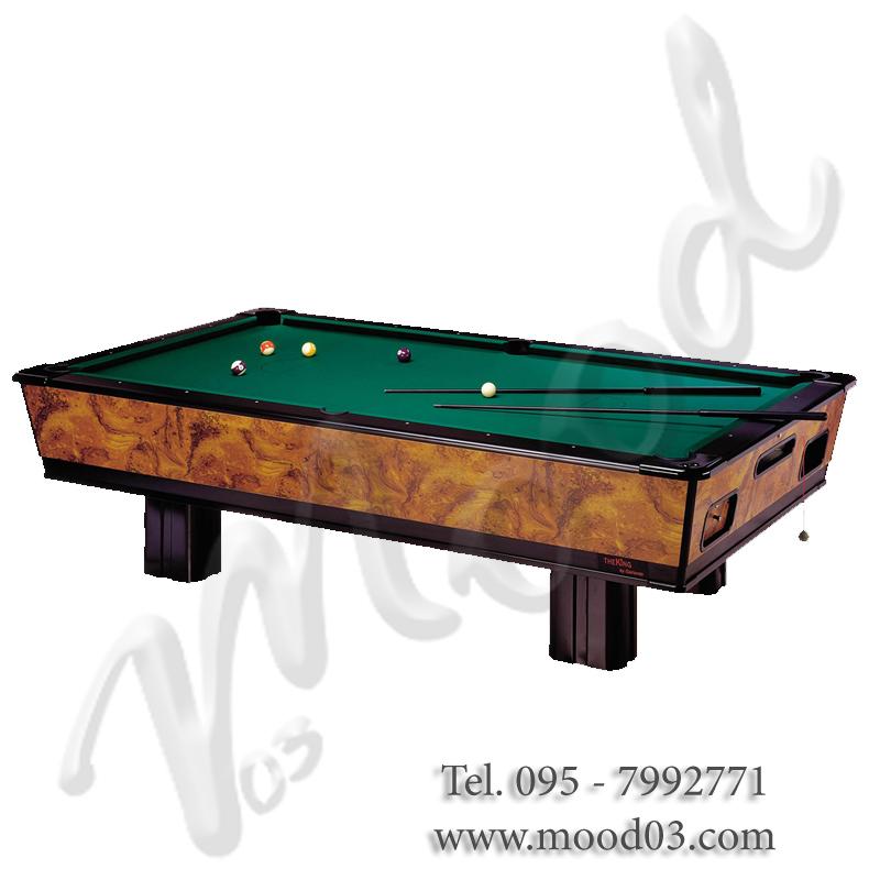King 9 con cestelli tavolo da biliardo in ardesia per un gioco professionale anche in casa - Dimensioni tavolo biliardo casa ...