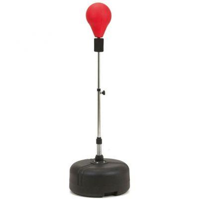 Toorx Punching ball professionale, altezza regolabile da 120 a 160 cm - Base zavorrabile con acqua o sabbia