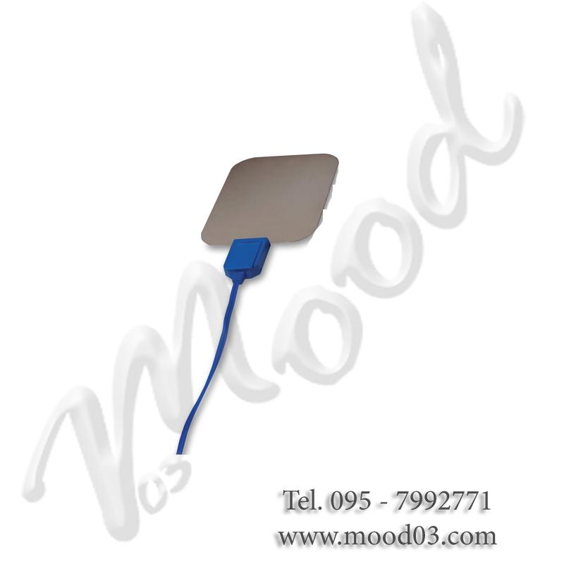 Cavo blu per elettrodi adesivi tecarterapia I-Tech