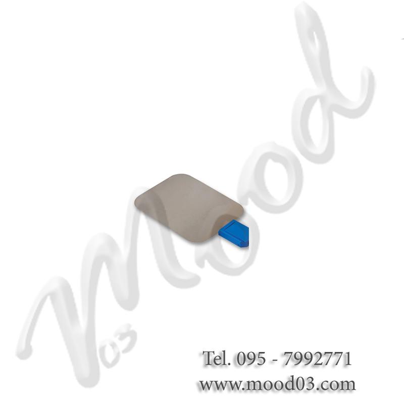 Elettrodo di ritorno morbido autoadesivo 88 x 74 mm (superficie attiva 36 cm²)
