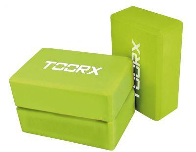 Mattone Yoga singolo, colore verde lime - Dimensioni 7,5x15x22,5 cm