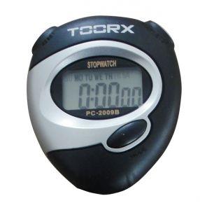 Cronometro digitale con display LCD, colore nero-silver