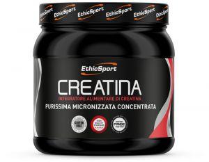CREATINA CREAPURE ETHICSPORT 300 GRAMMI - Integratore Alimentare per migliorare Prestazione e Reattività Muscolare