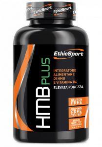 HMB PLUS ETHICSPORT 120 COMPRESSE - Integratore per il potenziamento muscolare e recupero da attività intense
