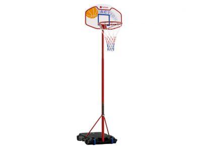 EL PASO Impianto Basket con colonna ad altezza regolabile da 160 a 210 cm